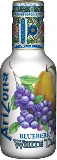 Arizona Eistee Blaubeere mit Weissem Tee Einwegflasche 500 ml - Vorschau