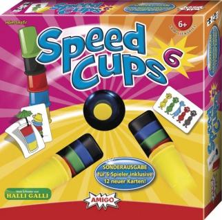 Amigo Speed Cups 6 Ein tolles spannendes Spiel für die ganze Familie
