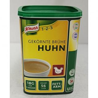 Knorr Gekörnte Brühe Huhn (1kg Dose)