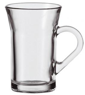 Teeglas Kaffeeglas von Montana Serie CEYLON Transparent 170 ml