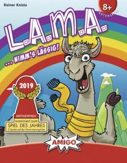 Amigo Spiel Lama ein super lässiges Kartenspiel mit Ärgerfaktor