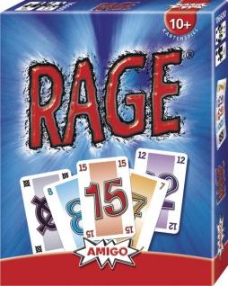 Amigo Rage Ein spannendes und tolles Kartenspiel für die ganze Familie