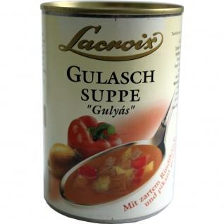 Lacroix - Gulaschsuppe - 0, 4l
