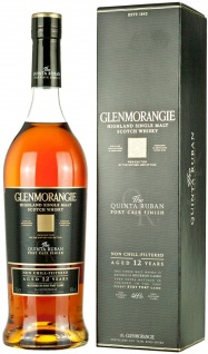 Glenmorangie Quinta Ruban 14 Jahre in einer Geschenkverpackung 700ml