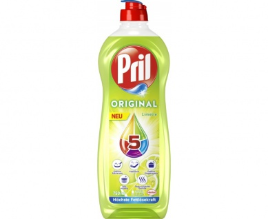 Henkel Waschmittel Pril Limette höchste Fettlösekraft 750ml 14er Pack