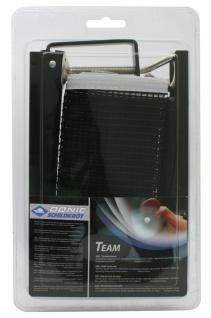 Tischtennisnetz Team klappbare Netzgarnitur Nylonnetz Spannschnur