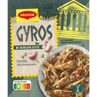 Maggi Food Travel Fix für Gyros Gewürz mit natürlichen Zutaten 30g