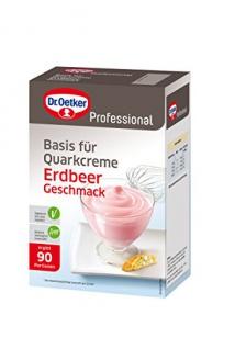 Dr. Oetker Quarkspeise Erdbeer, 1er Pack (1 x 1000 g)