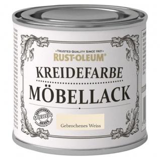 Rust Oleum Shabby Kreidefarbe Möbellack Gebrochenes Weiss matt 125ml