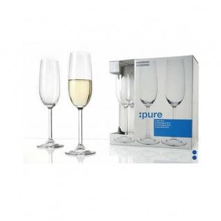 Sektglas Champagnerglas Gkbd Brands Serie PURE 200 ml 6er Pack