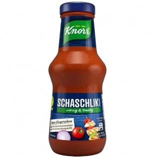 Knorr Schaschlik Sauce würzig und tomatig perfekt zu Fleisch 250ml
