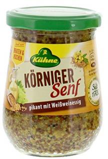 Kühne - Körniger Senf 250ml