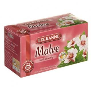 Teekanne Spritzige Malve Hibiskusblütentee Kräutertee 3er Pack