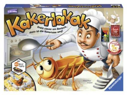 Ravensburger 22212 4 - Kakerlakak Brettspiel