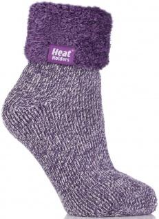Thermo Socken Heat Holders Wintersocken Damen D Lounge Lilac mauve