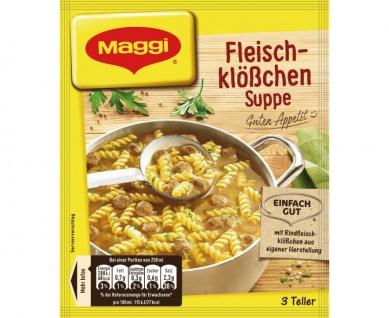 Maggi Fleischklößchensuppe Guten Appetit Ein echter Klassiker 60g