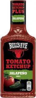 Bull's-Eye Jalapeno Grüne Chili Tomato Ketchup, Dosierflasche, 525 ml