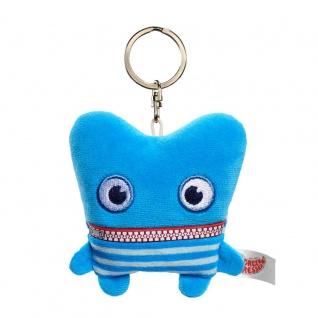 Schlüsselanhänger Sorgenfresser Zack 8, 5 cm groß & Schlüsselring