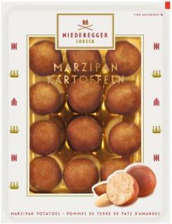 Niederegger saftige Marzipan Kartoffeln in Kakao 100g 4er Pack