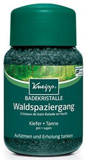 Kneipp Badekristalle Waldspaziergang ätherischen Öl 500g 2er Pack