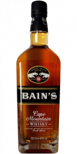 Bain's Cape Mountain Whisky Single Grain aus Südafrika 40% Vol. 700ml