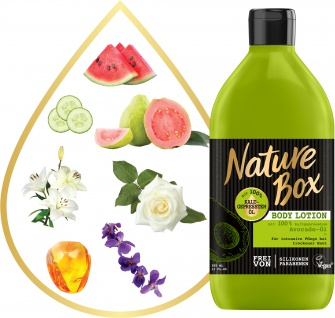NATURE BOX Body Lotion Avocado 385 ml