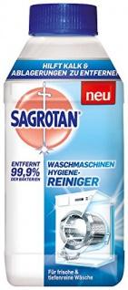 Sagrotan Maschinenreiniger 3 x 250ml ohne Spülmaschinenreiniger Verpackung variieren