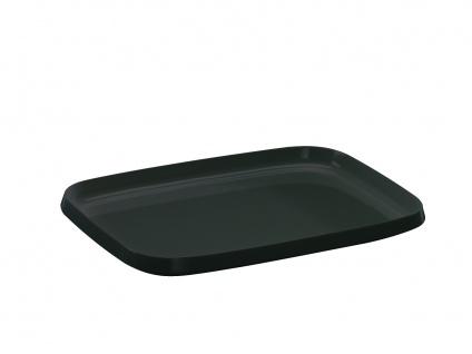 Walch WACA Tablett schwarz 202 aus Melamin Ausführung in klein