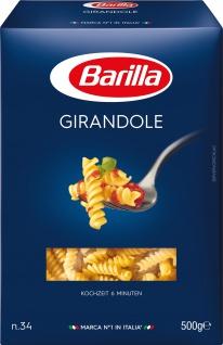 Barilla Girandole Nr 34 Hartweizen gedrehte Nudeln 3000g 6er Pack