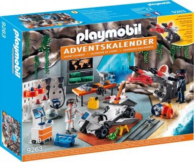 Playmobil Adventskalender Spy Team Werkstatt