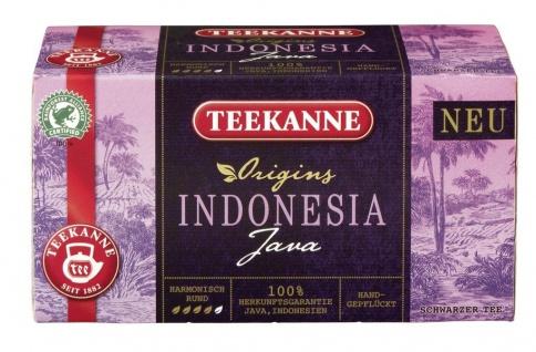 Teekanne Origins Indonesia Java Harmonisch Rund 20 Teebeutel