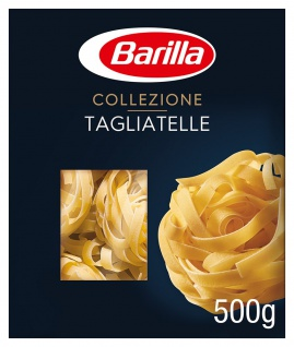 Barilla Collezione Tagliatelle Hartweizen Pasta 2000g 4er Pack