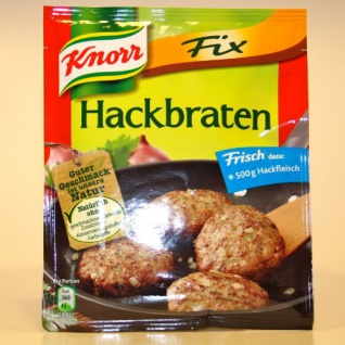 Unilever Knorr Fix Hackbraten mit deftigen Hackfleisch 50g Beutel