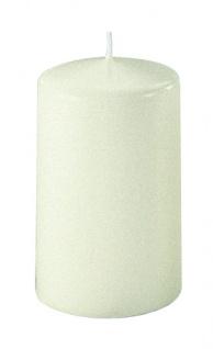 Kerzen Stumpenkerzen Candle wollweiß 130x70mm RAL Qualität 1 Stück