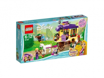 Lego Disney 41157 Rapunzels Reisekutsche Erlebe aufregende Abenteuer