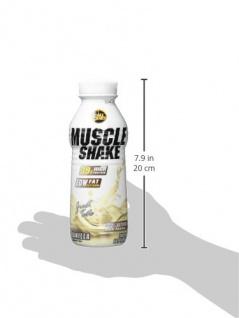 AllStars Muscle Shake Vanille Low Fat Protein Ready To Go 500ml - Vorschau 4