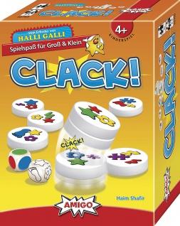 Amigo Spiel Clack beliebtes Kinderspiel was auch Eltern begeistert