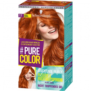Schwarzkopf Pure Color Coloration Stufe 3 Roter Ingwer 143ml