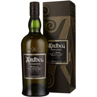 Ardbeg Uigeadail islay Single Malt Scotch Whisky in Geschenkverpackung 700ml