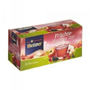 Meßmer Früchte Mischung herzhaft fruchtig 25 Teebeutel 12er Pack