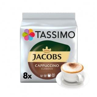 Tassimo Jacobs Cappuccino Classico einzigartiges Verwöhnaroma 260g