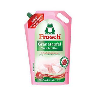 Frosch Granatapfel Waschmittel 1, 8 Liter - Faserschützend mit Granatapfel - Vorschau