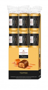 Niederegger Trüffel Riegel Toffee umhüllt von Vollmilch Schokolade 50g