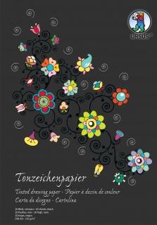 Ursus Sondereditions Tonzeichenpapier Block Pastell DIN A4 sortiert