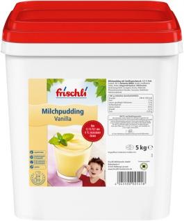 Frischli Milchpudding Vanilla aus feiner und fettarmer Milch 5000g