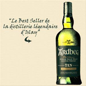 Ardbeg Islay Single Malt Scotch Whisky 10 Jahre 46 Prozent Vol.