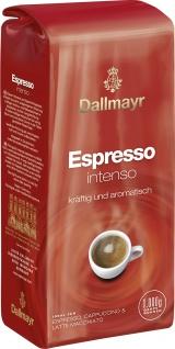 Dallmayr Espresso Intenso Ganze Bohnen kräftig 1000g 4er Pack