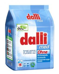 Dalli Med Waschmittelpulver, 1er Pack (1 x 1, 215 kg)