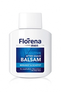 Florena men Sensitive After Shave Balsam mit Aloe Vera, 1er Pack, (1 x 100 ml)
