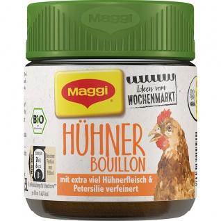 Maggi Bio Hühner Bouillon extra viel Hühnerfleisch für 5.5 Liter 110g